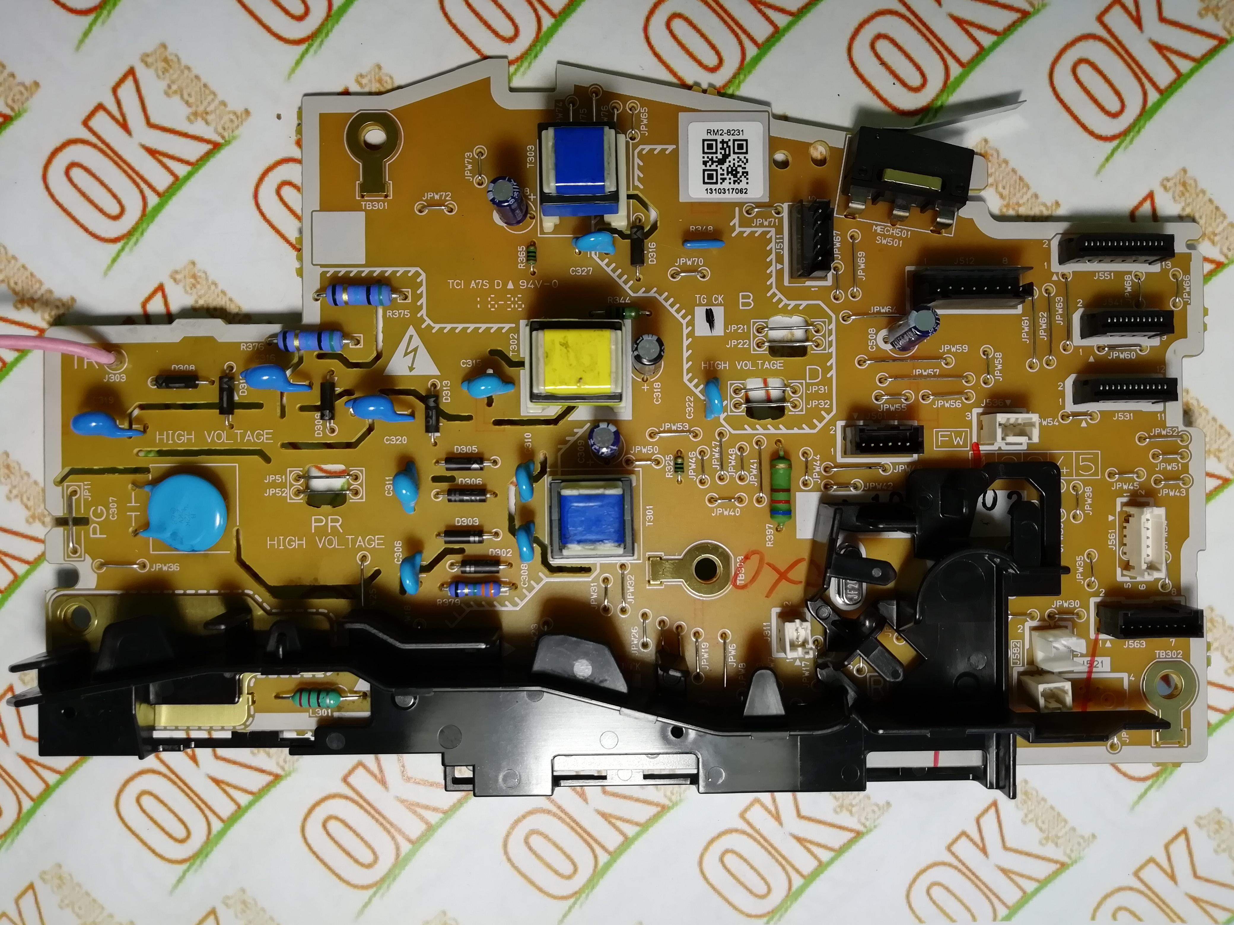 Фото товараПлата живлення / DC контролера HP LJ Pro M102a, M130a RM2-8231, RK2-7575